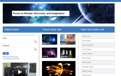 Skyrocket your Science Education with Supercharged Science Online Full Curriculum for K-12